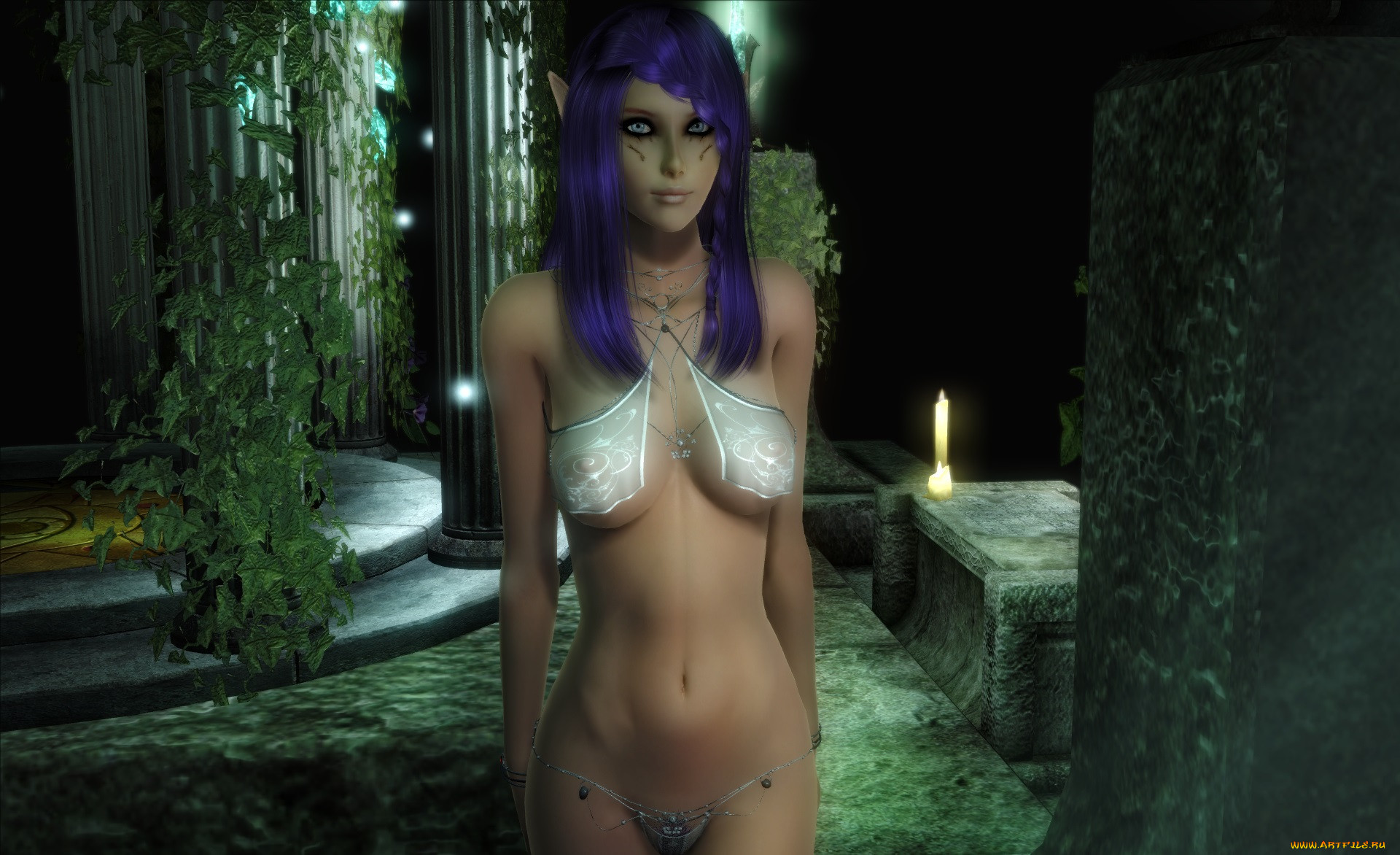 3d elf captured sexy photos